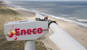 Eneco staat op plaats 8 van de 34 op de groene energielijst