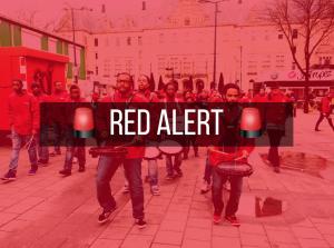 Rood op straat PvdA Rotterdam