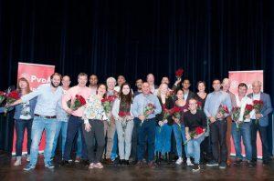 Kandidatenlijst PvdA 2018 Rotterdam