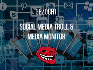 Social troll en media monitor