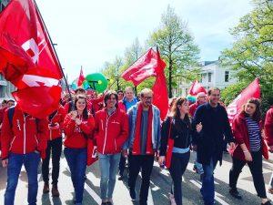 1 mei viering pvda landelijk