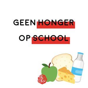 Kinderen niet zonder honger naar school